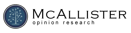 McAllister Opinion Research Logo